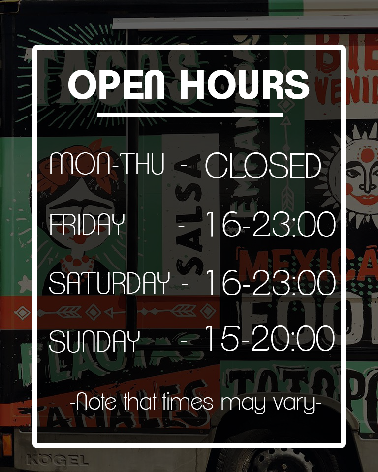 Open hours in text